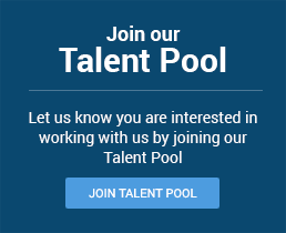 Join our Talent Pool